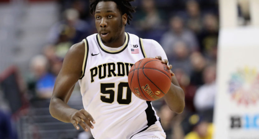 Caleb Swanigan staying in the NBA Draft