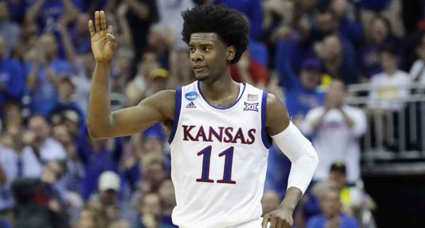 Kansas' Jackson pleads guilty to misdemeanor for hitting vehicle
