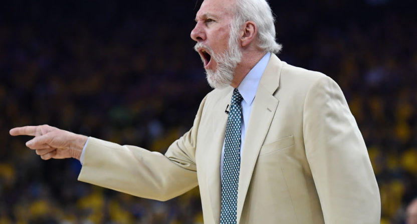 Gregg Popovich Rips President Trump's Recent Actions: 'He's Dangerous & An Embarrassment'