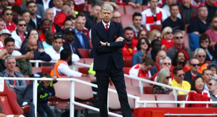 Wenger blames hostile environment for top-four failure