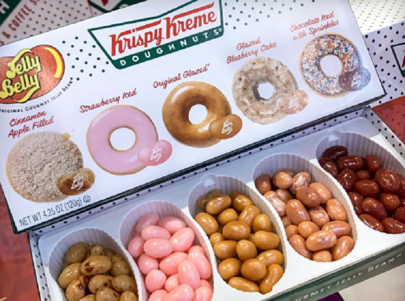 a report on the food company krispy kreme
