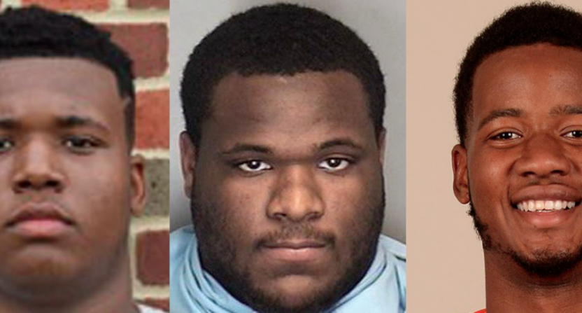 U of Illinois football players arrested in alleged robbery