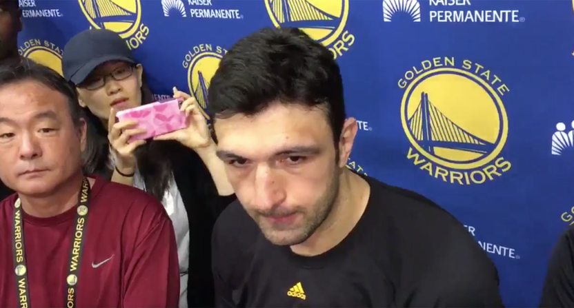 Pachulia suffers right heel contusion, won't return to Game 2