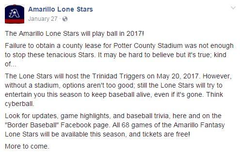 Amarillo Lone Stars
