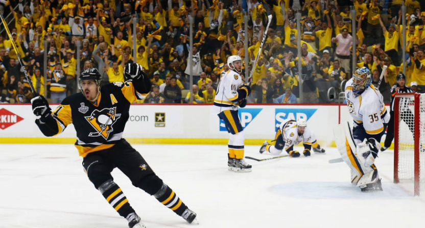 Penguins Down Predators in Game 2