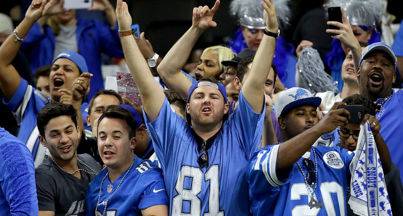 Man shouts at Lions players, removed from team facility