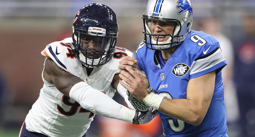 Bears LB Leonard Floyd on concussion: 'You don't think the same'