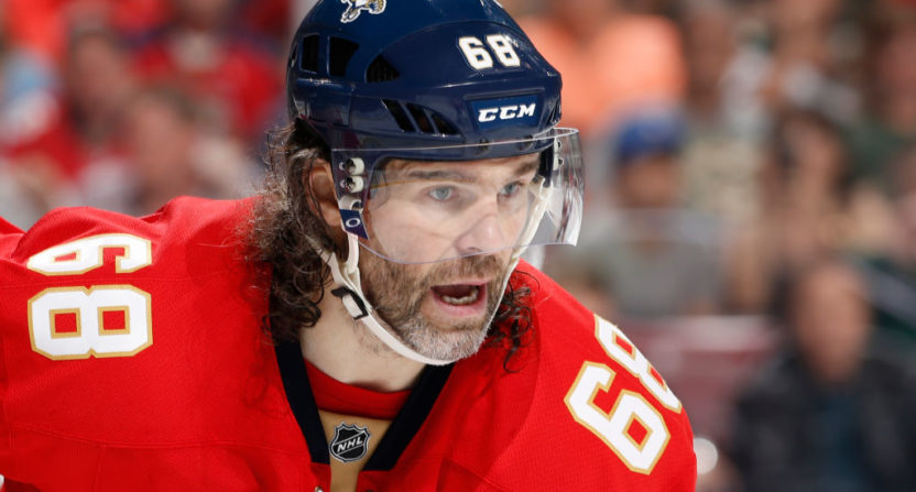 'Very likely' that Jagr won't be returning to Panthers