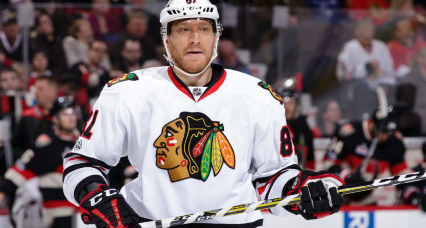 Blackhawks' Hossa to miss 2017-18 season with skin disorder