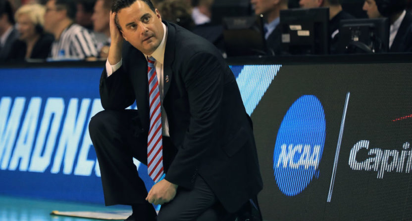 Sean Miller to Ohio State? 'Over my dead body' says Arizona president