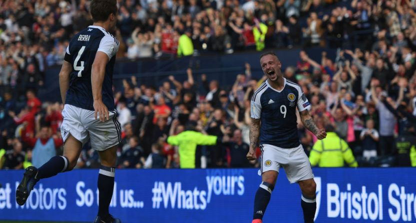 Kane silences Scotland's celebration with late leveller