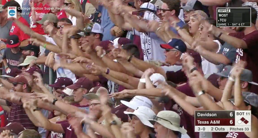 Texas A&M fans