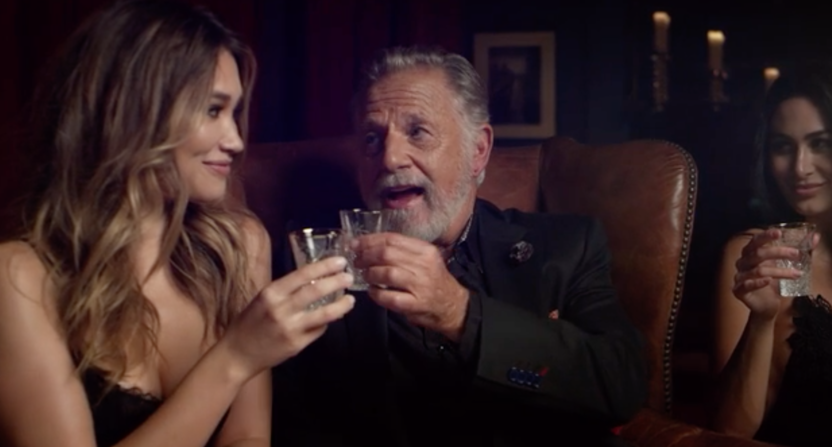 the most interesting man in the world guy is back now doing