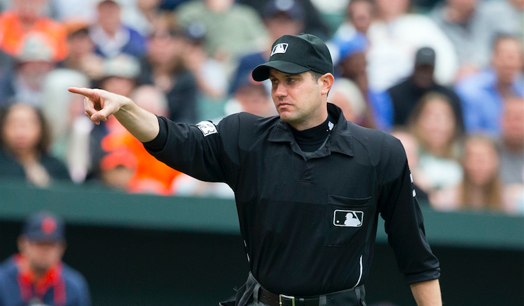 A Major League Umpire Is a Hero for Saving a Woman's Life