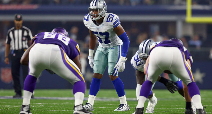 Cowboys linebacker Damien Wilson arrested