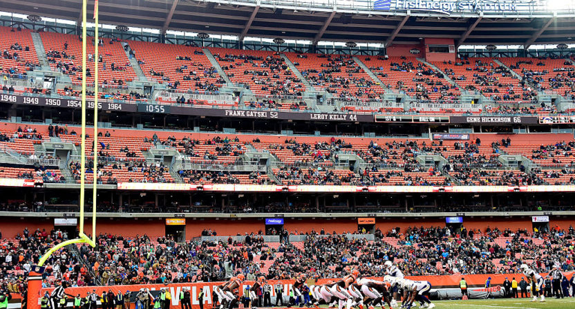 Browns stadium panels have ties to deadly fire
