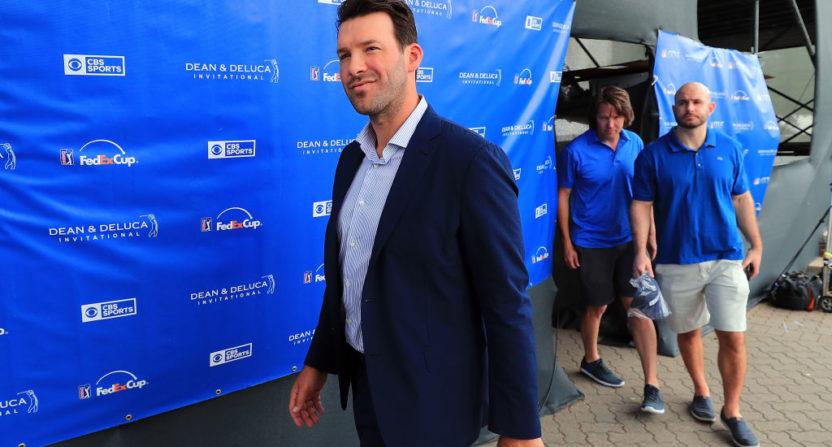 Tony Romo Isn't Planning Return To NFL, Loves CBS Commentary Job