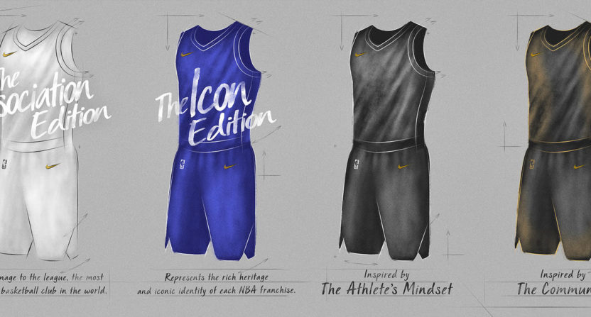 Nike's New NBA Uniform Designs Appear To Have Leaked
