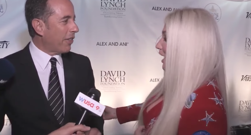 Kesha reveals Jerry Seinfeld snub left her 'hug-traumatized'