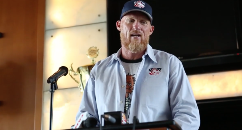 48-year-old Todd Marinovich is attempting a comeback