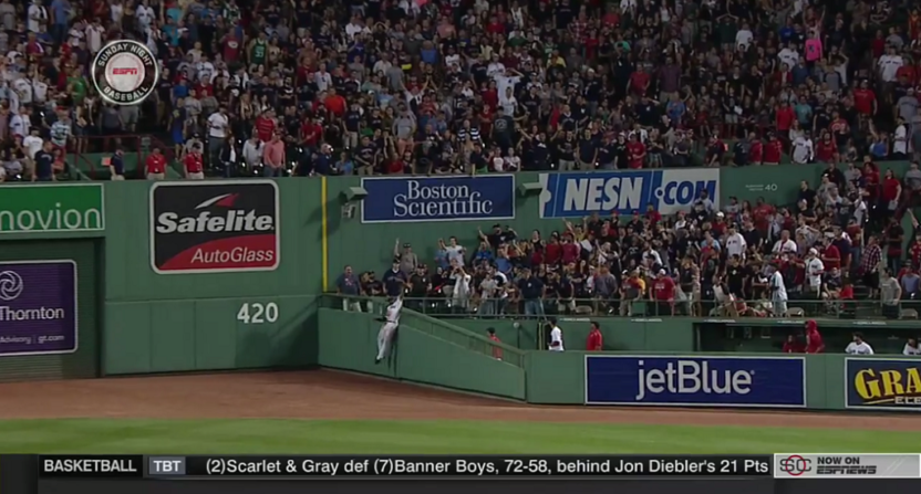 RESPECT: Yankees Star Praises Jackie Bradley Jr.'s Amazing Catch