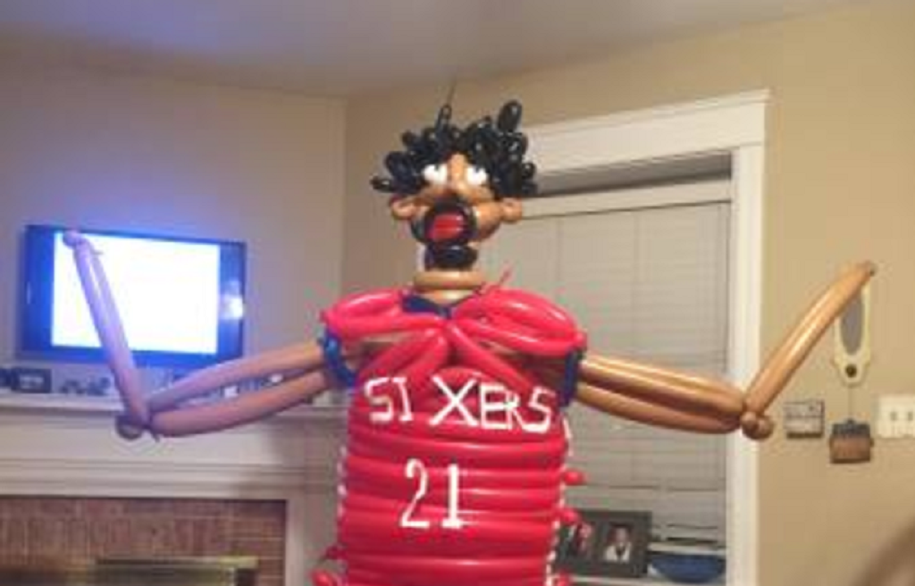 Craigslist Com Philadelphia >> Somebody on Craigslist wants to trade a life-sized Joel Embiid balloon for tools and lumber