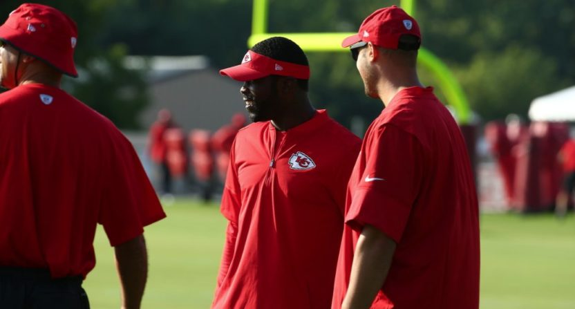 Andy Reid and others share thoughts on Mike Vick interning with Chiefs
