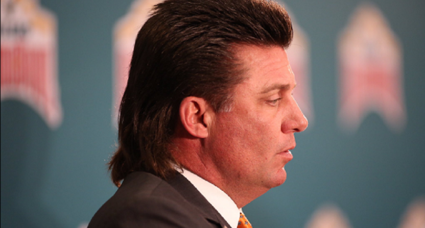 Oklahoma State Football Greatly Benefits From Mike Gundy's Mullet