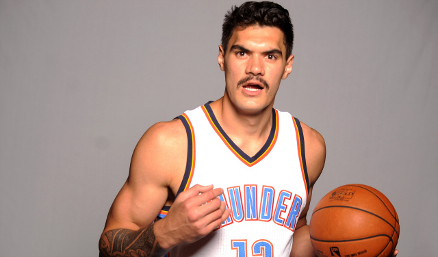 Steven is Adams Thunder center unrecognizable without his