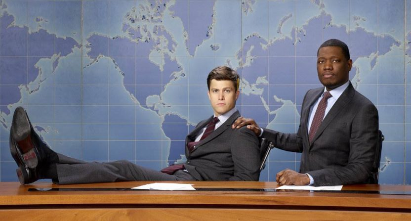 'Weekend Update' pokes Trump, Scaramucci on 'SNL'