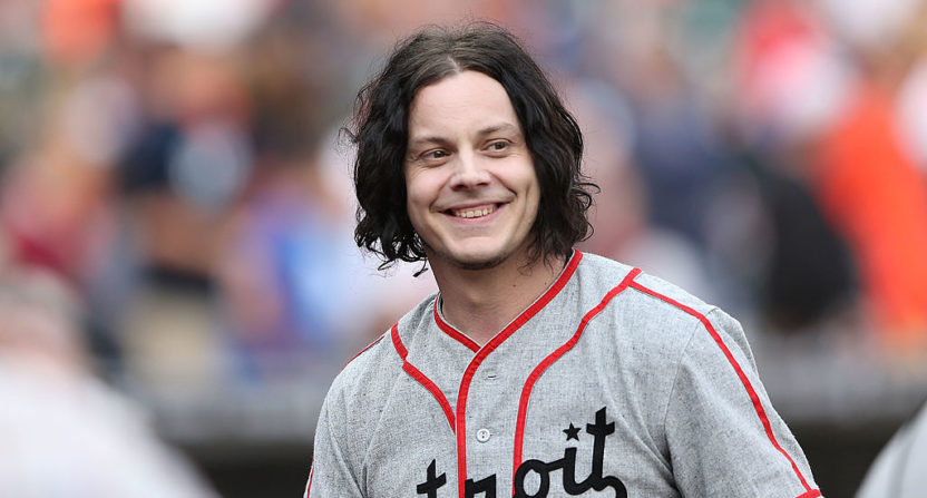 Jack White, Tigers team up on exclusive record
