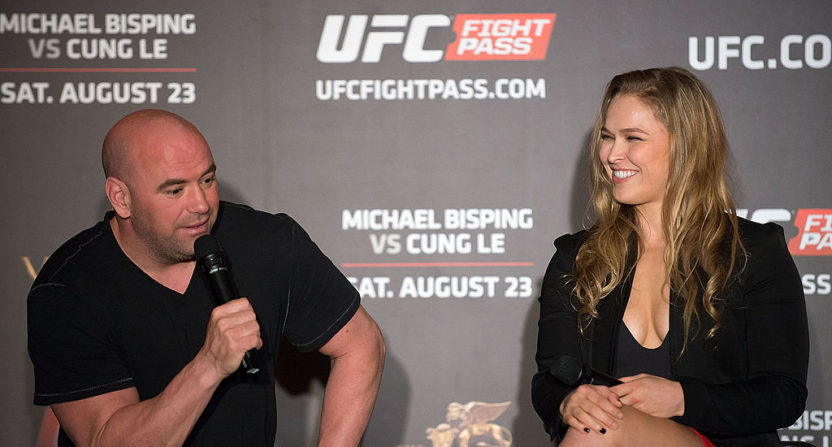 Dana White: Rousey's potential retirement 'anything but a sad story'