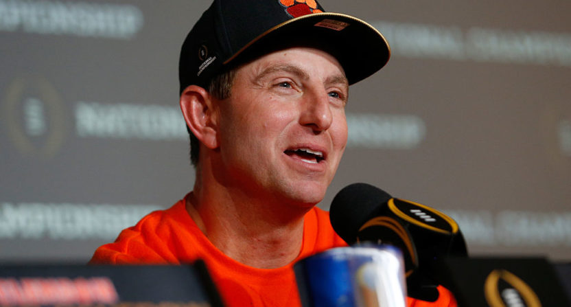 Dabo Swinney, Clemson agree to new eight-year contract