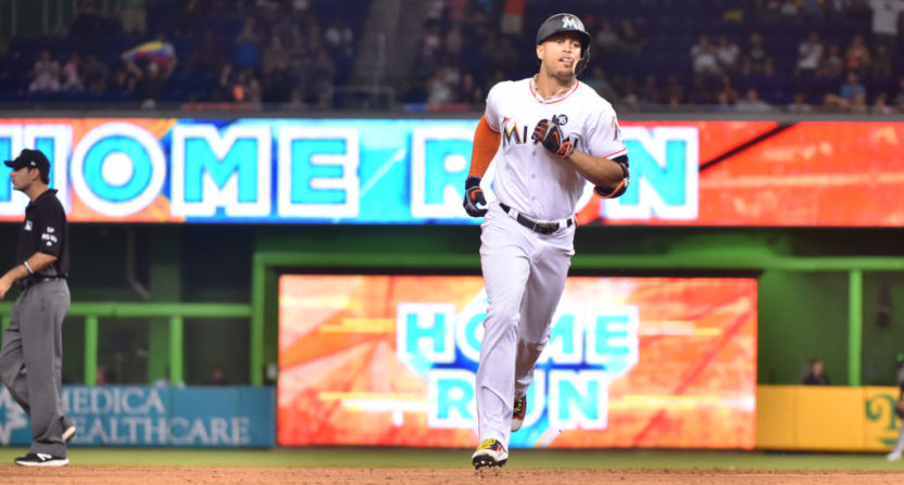 Why Giancarlo Stanton Doubts Legitimacy Of Some MLB Home-Run Records