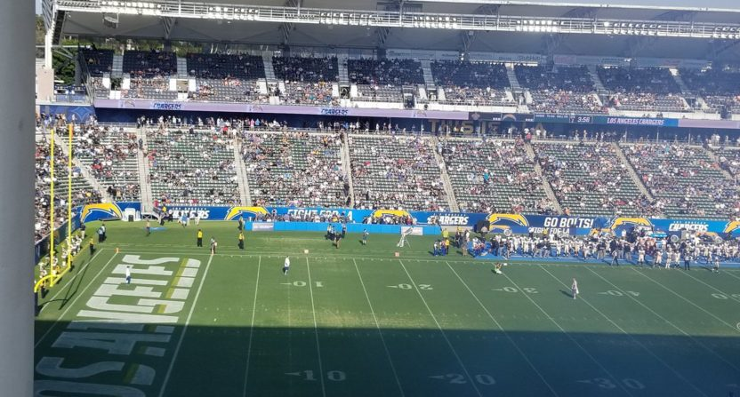 The Chargers Preseason Attendance Suggests They Re