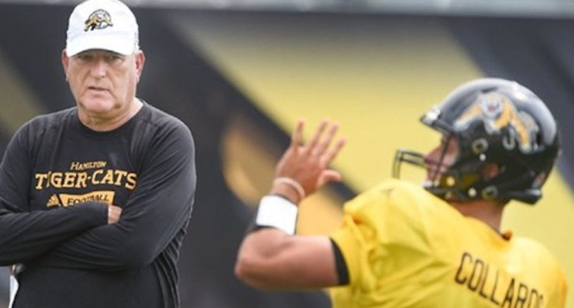 June Jones is now the Hamilton Tiger-Cats' new head coach.