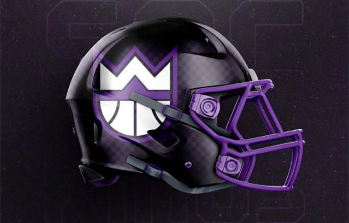 if nba teams were football teams these helmet designs