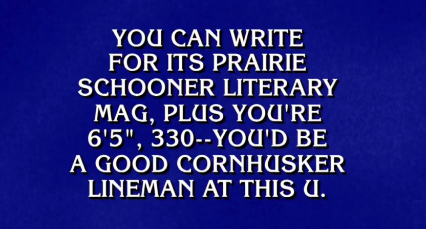 Feel better about yourself watching jeopardy contestants stumble on feel better about yourself watching jeopardy contestants stumble on college football questions solutioingenieria Choice Image