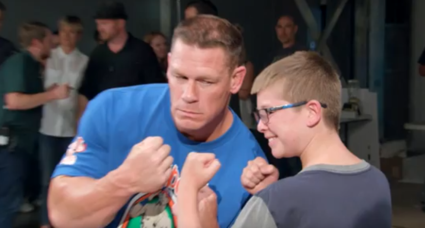 John Cena being surprised by adoring fans is the best