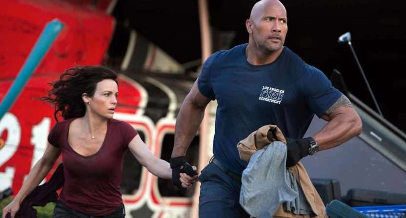 Dwayne The Rock Johnson in San Andreas