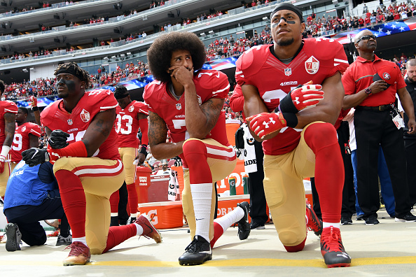 Trump continues to blast anthem protests