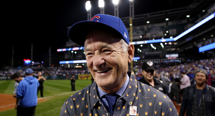 Bill Murray could play Joe Maddon in Cubs movie