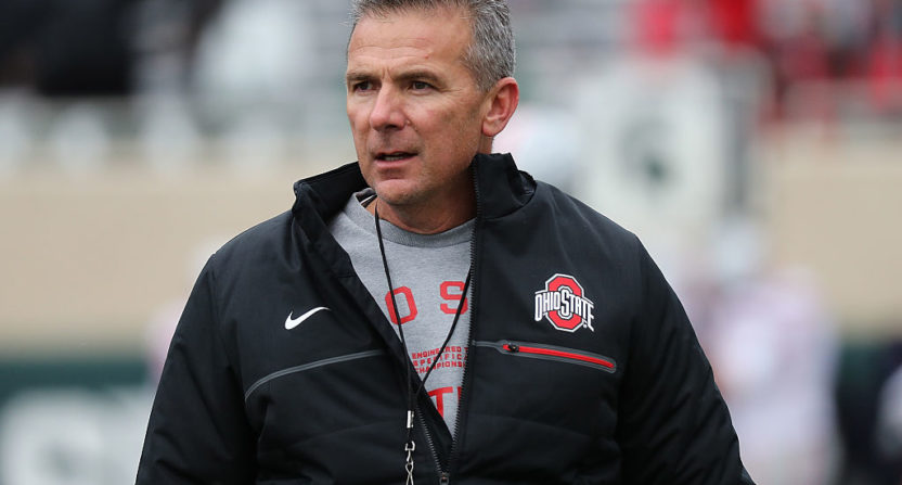 Urban Meyer thinks Tom Herman threw Texas players under the bus