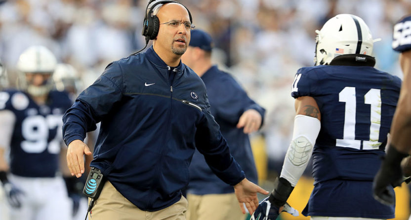 Penn State's James Franklin throws shade that's sure to fuel Pitt rivalry