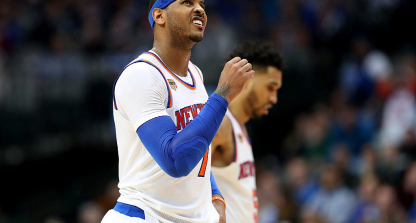 Carmelo Anthony Trade Rumors: Is New York Close To Making A Deal?