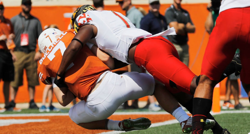 Maryland took down No. 23 Texas Saturday.
