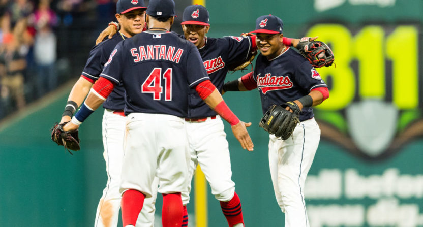 Indians Twitter account has fun with 18-game winning streak