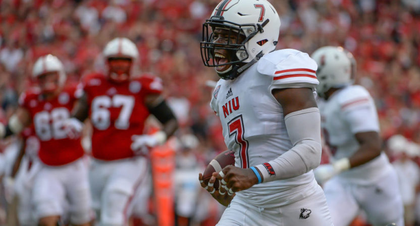 Nebraska loses 21-17 at home to Northern Illinois