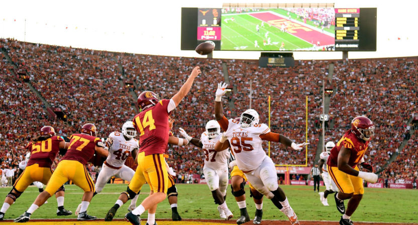 No. 4 USC holds off Texas in 2 OTs