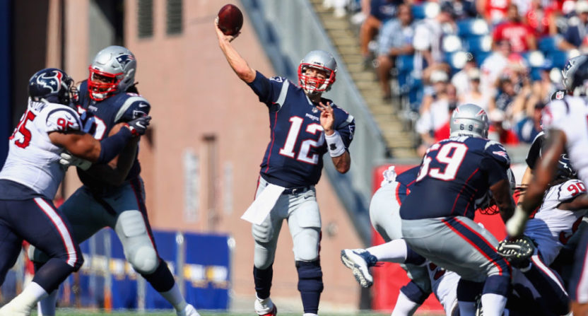 Tom Brady throws five touchdowns, including game-winner in ...